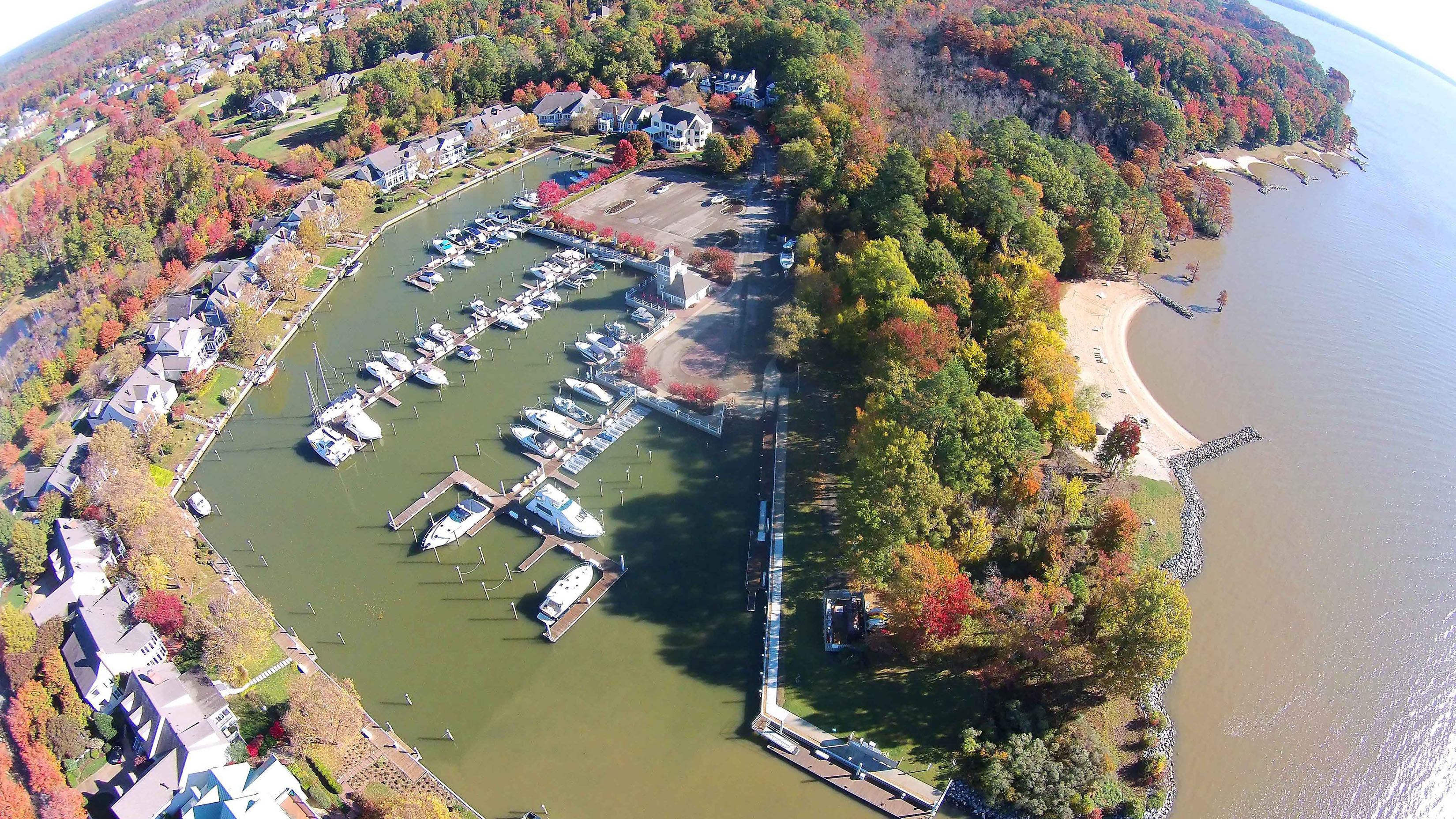 Governors Land Marina Aerial